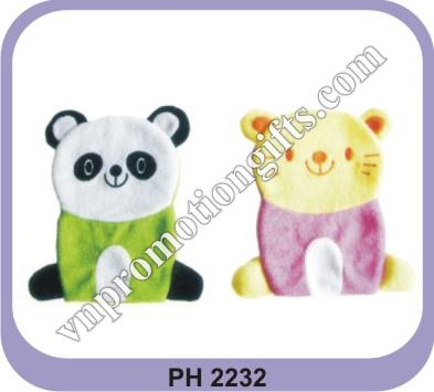 MOBILE HOLDER BAG - BEAR FIGURE